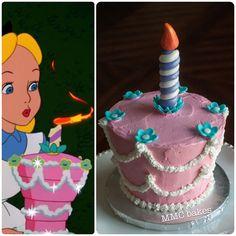 alice in wonderland smash cake, smash cake, 1st birthday, alice in wonderland, fondant, mmc bakes, san diego, chula vista, custom cakes