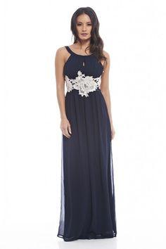 Ax paris keyhole front maxi dress
