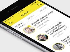 Menu interaction #ui #ux #mobile #app #menu #interaction #nav #iphone