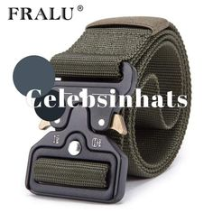 Mens Tactical Belt Military style Nylon Belt Assorted colours  Christmas   Presents  Celebsinhats a2ecf5eed7b4
