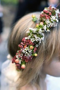 Flower Girl Baskets and Headpieces | A Southern Tradition