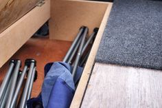 There is plenty of storage under the bed of a 2 seat 2 sleep Bumble Camper. We include camping chairs with all our rentals. Rent A Campervan, Camper Rental, Uk Holidays, Camping Chairs, Peterborough, Mk1, Manchester, Sleep, Storage