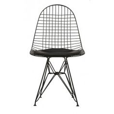 Replica Eames Black Wire Chair