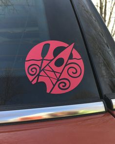 New! This decorative decal shows off your love of kayaking! It is made of premium, all-weather vinyl. For car and truck windows, kayaks, canoes, paddles,