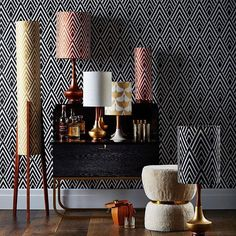 Yes please to all of these lamps from @retroprintrevival. Those brass bases are nothing short of phenomenal. Are you a fan? #lamp #lamps #lampshade #lampshades #lights #lighting #retro #retroprints #retropattern #wallpaper #retrowallpaper #lampdesign