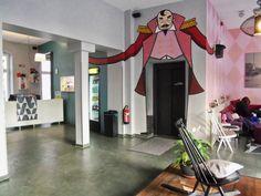 luxury hostel lobby - Google Search