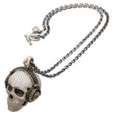 Hysteric Glamour's TRYGOD Skull + Snake Jewelry. Oh my god, so expensive but so perfect! <3