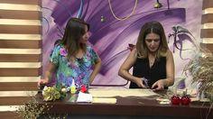 Mulher.com - 24/12/2014 - Decoracao mesa de natal por Marisa Magalhaes -...