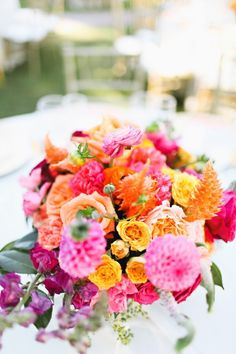 wedding centerpiece idea; photo: Adrienne Gunde Photography
