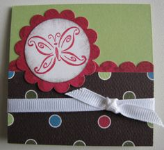 3x3 card by TrudyW - Cards and Paper Crafts at Splitcoaststampers