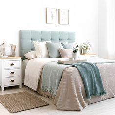 Kenay home ( Diy Bedroom Decor For Teens, Room Ideas Bedroom, Home Bedroom, Living Room Decor, Home Room Design, Bed Design, Ideas Decorar Habitacion, Diy Bett, Minimalist Bedroom