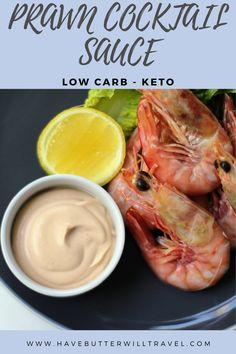 Keto prawn cocktail sauce recipe is perfect to pair with your favourite seafood protein. Great to serve with your prawns at Christmas and during the summer. Prawn Cocktail, Cocktail Sauce, Ketogenic Recipes, Low Carb Recipes, Lunches And Dinners, Meals, Keto Sauces, Low Carb Keto, Great Recipes