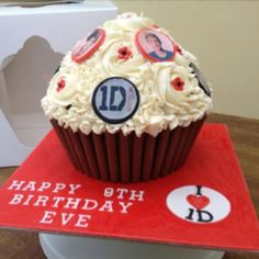one direction cupcake