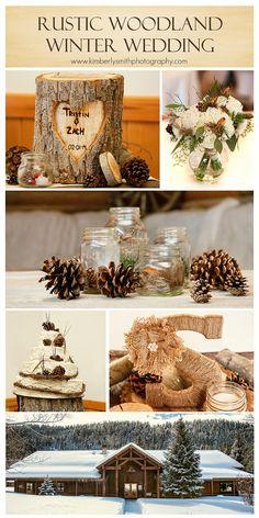 Kimberly Smith Photography: Rustic Winter Wedding {East Idaho Wedding Photographer}