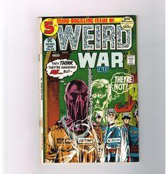 WEIRD WAR TALES #5 Bronze Age war-horror hybrid tales from DC! GRADE 8.0  http://www.ebay.com/itm/-/291587417190?roken=cUgayN&soutkn=lwYDXk