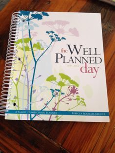 {review & giveaway} Well Planned Day Planner by @Home Educating Family