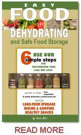 """Easy Food Dehydrating eBook. Available at Amazon, iBooks, nook, kobo, OYSTER, Page Foundry, Scribd, and tolino. This is the """"real McCoy"""" – beware of imitations! Over 325 pages!  