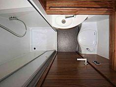 small conversion van bath