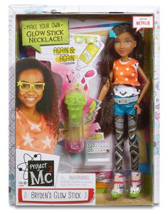 Project Mc2 Doll with Experiment- Bryden's Glow Stick - just bought this one. Even better in person!