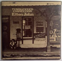 Elton John - Tumbleweed Connection Gatefold LP Vinyl Record Album, UNI Records - 73096, Rock, Classic Rock, 1970, Original Pressing