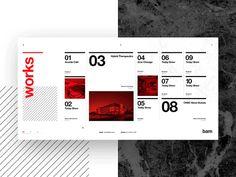 Das - Architecture Template - Hero Transition by Adrián Somoza Web Design Site Web Design, Web Design Trends, Ui Ux Design, Page Design, Book Design, Workflow Design, Dashboard Design, Graphic Design, Web Layout