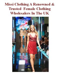 Missi Clothing A Renowned & Trusted  Female Clothing Wholesalers In The UK