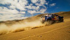 Red Bull Dakar Rally race truck