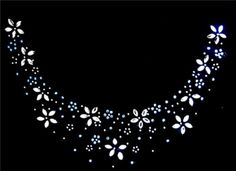 Rhinestone Iron On Transfer Hot Fix Motif Crystal Fashion Design Flower Circle