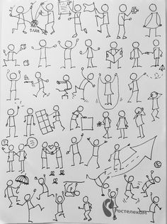 Cartoon Drawing Tips People Doodle Lettering, Hand Lettering, Zentangle, Stick Figure Drawing, Visual Note Taking, Doodle People, Drawing Lessons, Drawing Tips, Drawing Ideas