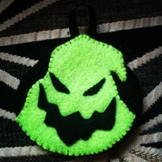 Part of a nightmare before Christmas ornament set. Etsy.com/shop/horrorables