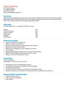 personal skills for resume examples