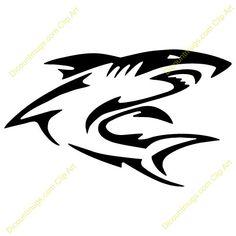 Clip Art Shark Jaws Clipart - Clipart Suggest Hai Tattoos, Forarm Tattoos, Tribal Tattoos, Tribal Hai, Arte Tribal, Shark Silhouette, Shark Coloring Pages, Deco Cuir, Shark Logo