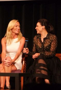 Lana and Victoria at Fairy Tales III :)
