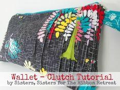 Wallet-Clutch Tutorial - TheRibbonRetreat.com