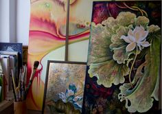 """from my studio: """"In Search of the Lost Identity"""" and more... by Anna Miarczynska"""