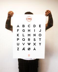 CWG Sans Typeface