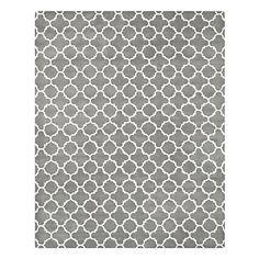 צמר מצויץ שטח שטיח אפור עם דפוס גיאומטרי 5 '* 8' – ILS ₪ 1,214.52