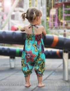 Toddler girls romper jumpsuit outfits overalls size by VividDress Toddler Girl Romper, Toddler Girls, Kids Girls, Cute Kids Fashion, Girl Fashion, Girls Rompers, Girls Dresses, Baby Fashionista, Romper Pants