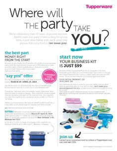 All you need to begin your business in Tupperware is a $30 investment! And you get everything you need AND ME go help you reach ANY goal! Tupperware Consultant, Good Meaning, Start Now, Just Shop, Be Your Own Boss, Love My Job, Good Things, Messages, Party