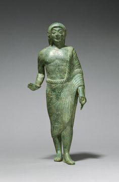 Statuette of a Kouros (Getty Museum)