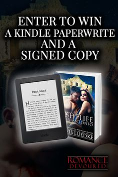 Win a Kindle Paperwhite, Signed