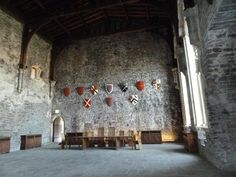 The Great Hall of Caerphilly Castle