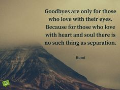 Explore inspirational, powerful and rare Rumi quotes and sayings. Here are the 100 greatest Rumi quotations on love, life, struggle and transformation. One Love Quotes, Death Quotes For Loved Ones, Rumi Love Quotes, Great Quotes, Words Quotes, Positive Quotes, Life Quotes, Inspirational Quotes, Rumi On Love
