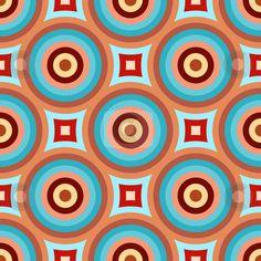 Abstract retro pattern stock photo