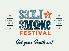 Logo for a traveling food & music festival. Oysters, BBQ, etc. Location and date aren't accurate.just placeholders. Self Branding, Logo Branding, Restaurant Branding, Corporate Branding, Personal Branding, Brand Identity Design, Branding Design, Smoke Logo, Music Festival Logos