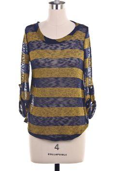 Stripe Knit Top (SOLD)