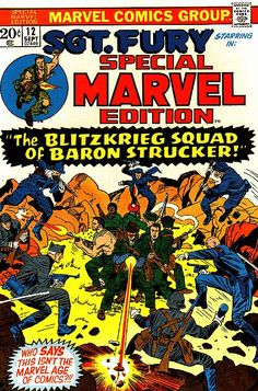 Special Marvel Edition # 12 by Jack Kirby & Dick Ayers