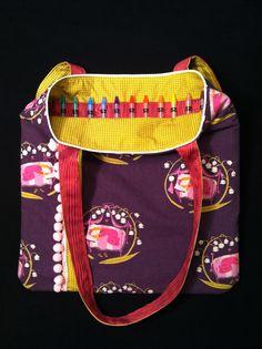 Crayons Bag Art Tote Kids DIY