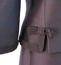 1960s Christian Dior Suit  (detail)