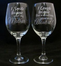 I Smile Because Your My Mother I Laugh Because There Is Nothing You Can Do About It Mothers day gift, Birthday gift, Mothers gift